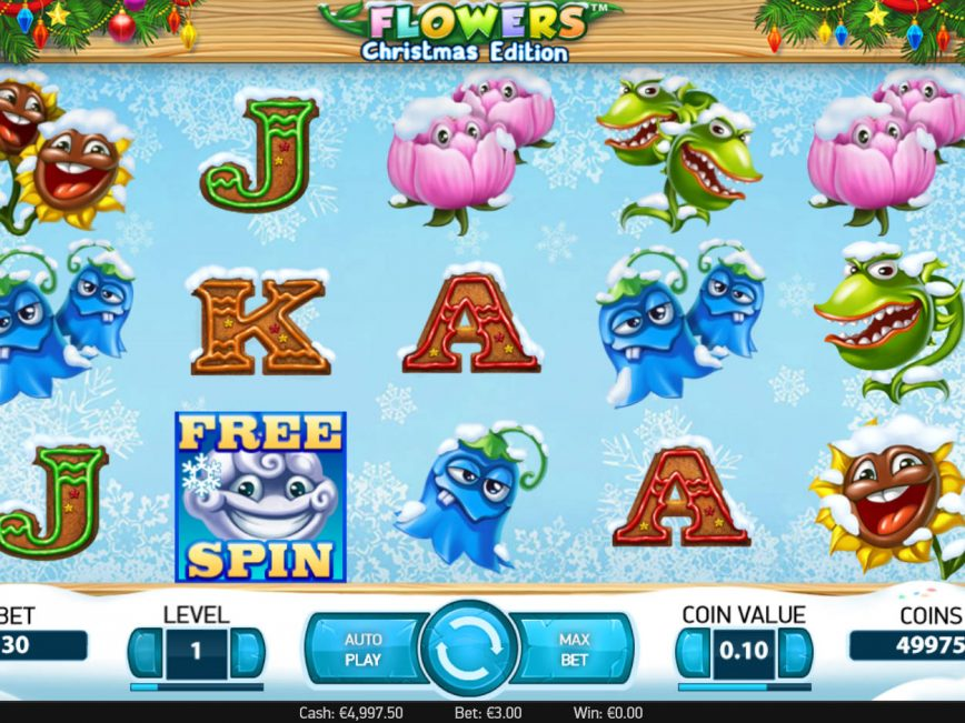 Free casino game Flowers: Christmas Edition no deposit