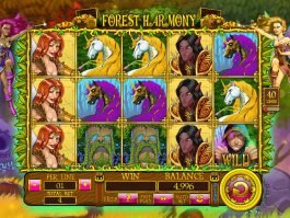 Spin casino game Forest Harmony online