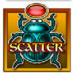 Scatter symbol from online free slot Fortunes of Egypt