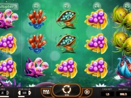 Play slot machine Fruitoids online