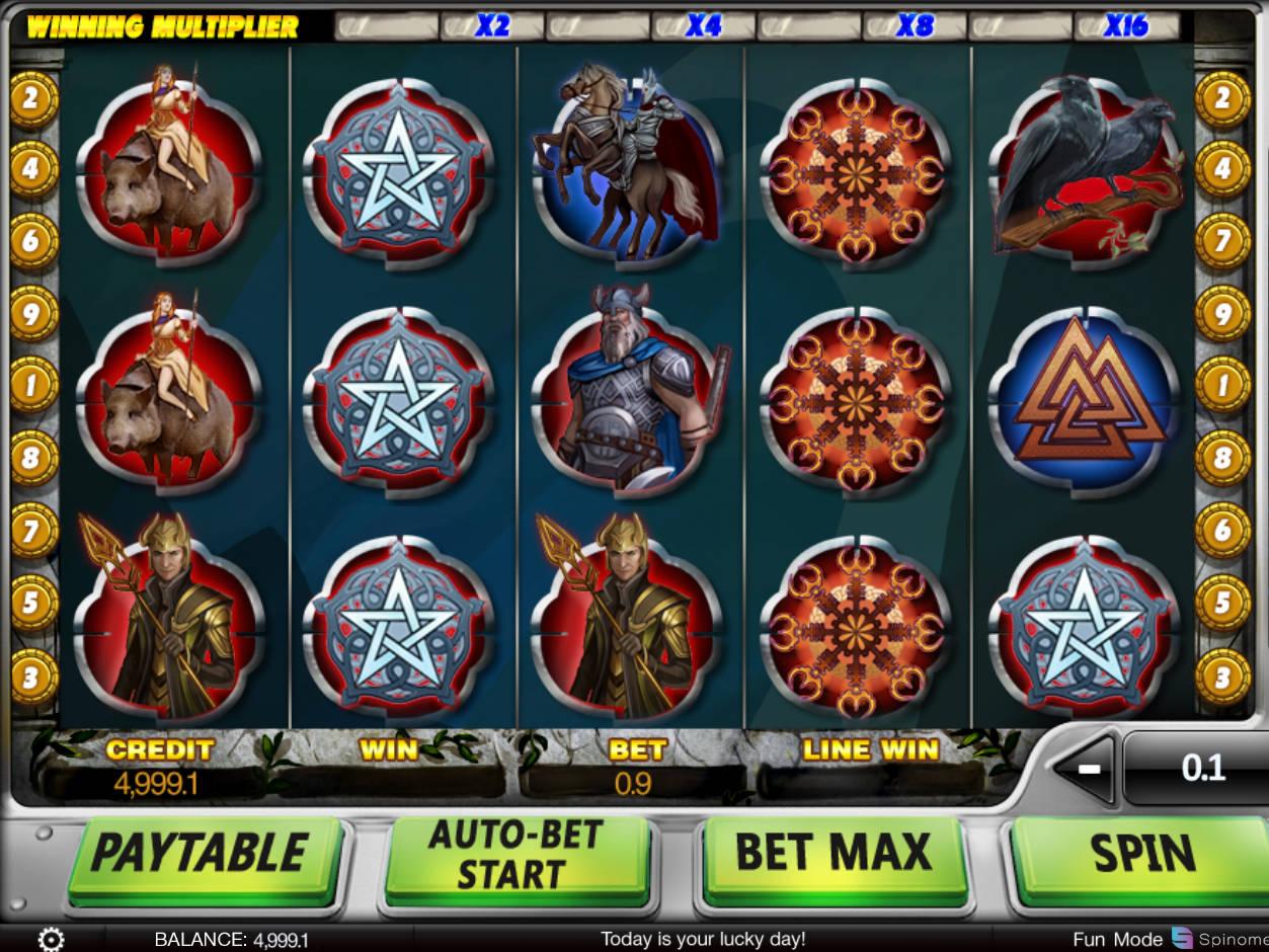 Gods Of Slots Machine