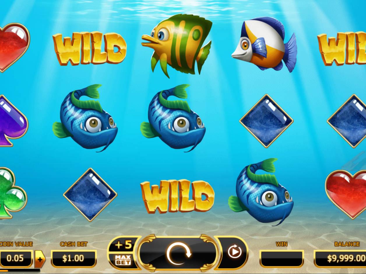 Golden Fish Tank Slot Machine