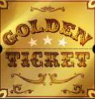 Online slot machine Golden Ticket - wild symbol