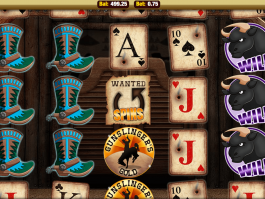 Free online slot machine Gunslingers Gold