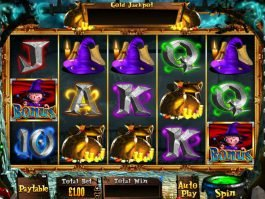 Harry Trotter the Pig Wizard online free slot