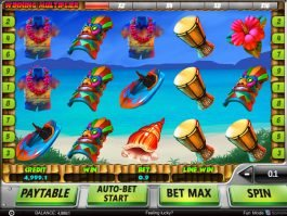 Spin free slot Hawaii Vacation by Spinomenal