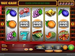 Casino online slot Hot Cash