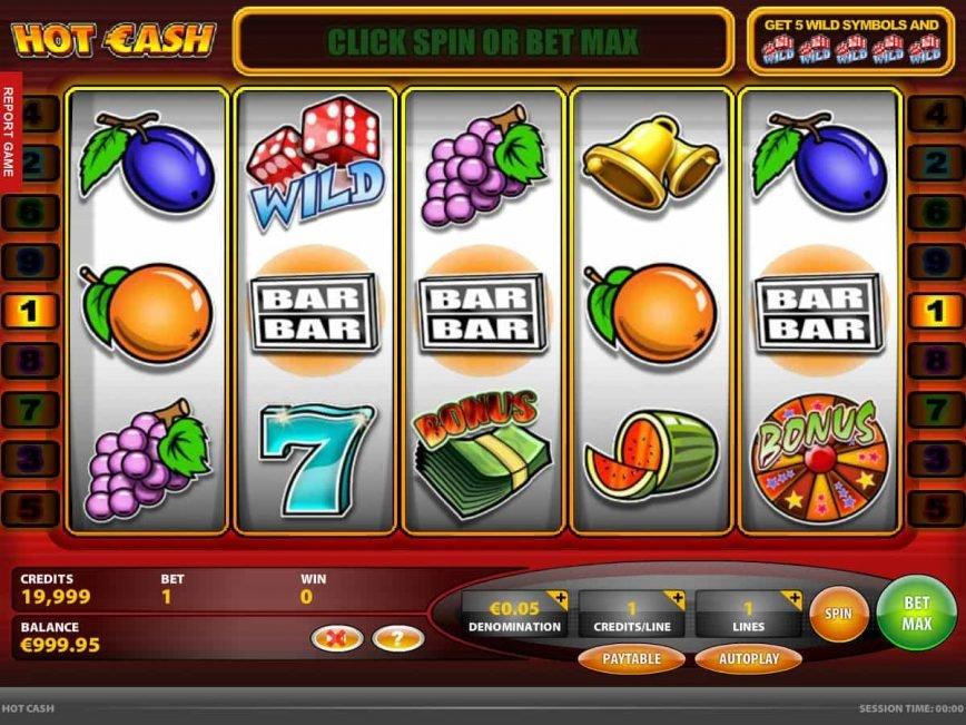 Casino online slot Hot Cash