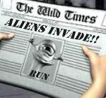 Invaders online nyerőgépe a Betsoft-tól - Vad Szimbólum