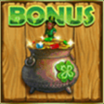 Bonus symbol from online free slot Irish Charms