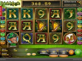 Picture from casino game Irish Magic