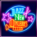 Play free slot Jazz of New Orleans with wild symbol