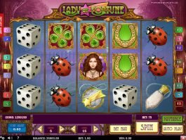 Online free slot Lady of Fortune no deposit