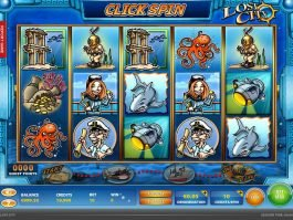 Play free casino game Lost City