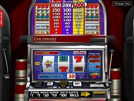 No deposit game Lucky 7 online by Betsoft