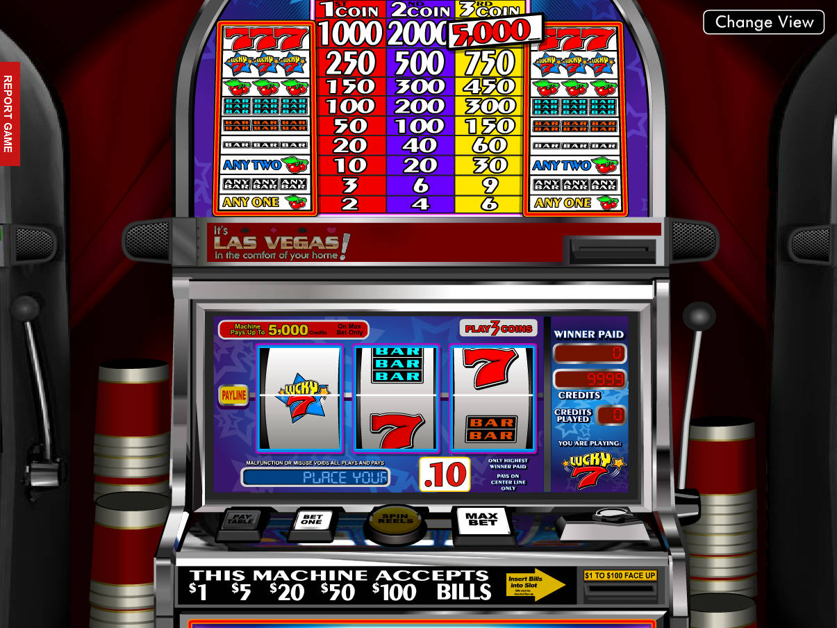 7 Free Online Slot Machines