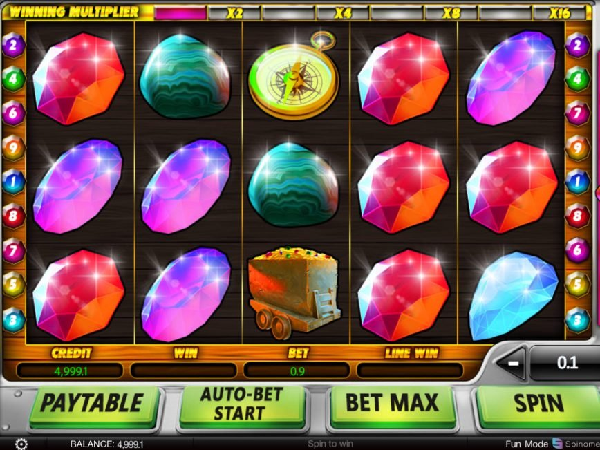 Spin slot machine Lucky Miners online