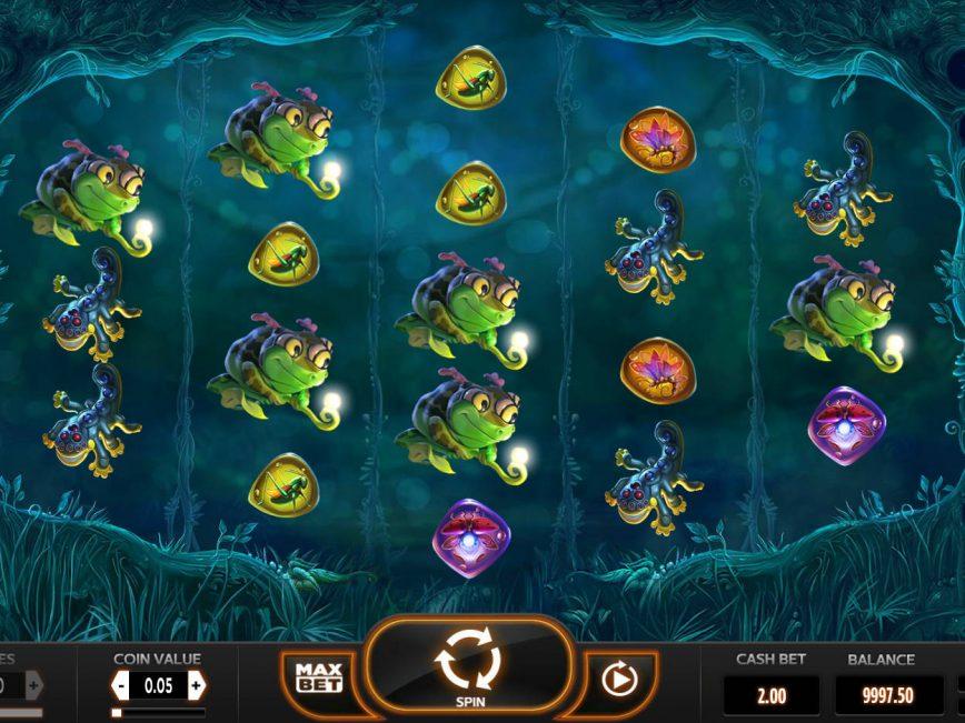 Free online slot Magic Mushrooms for fun