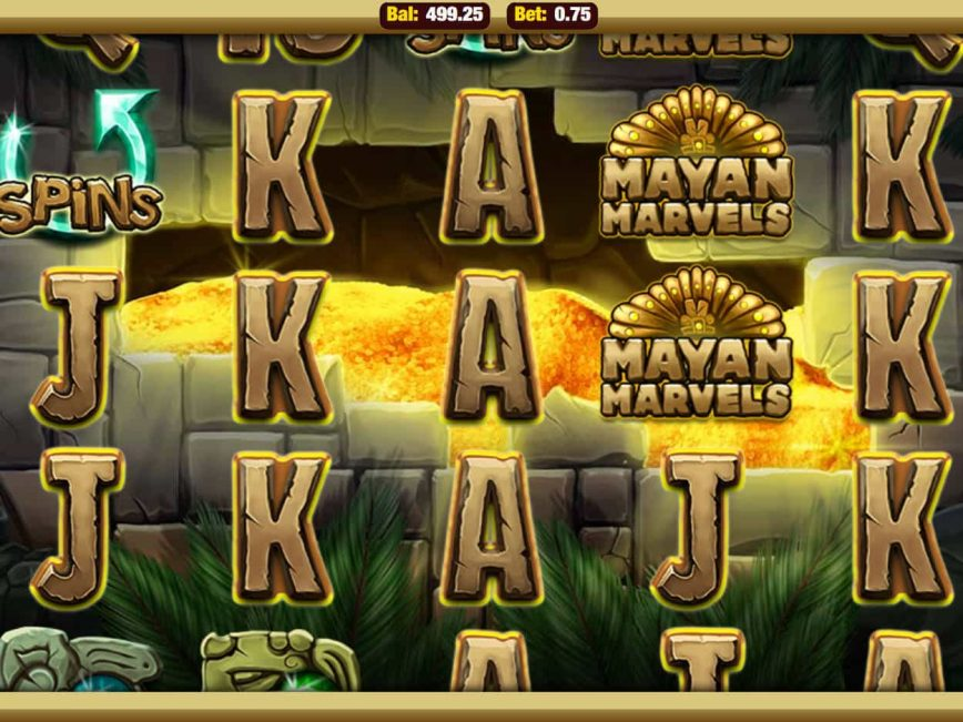 Play slot game Mayan Marvels online