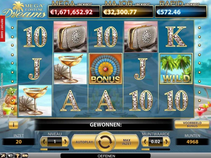 Mega Fortune Dreams Slot Machine