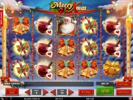 Picture from online slot Merry Xmas