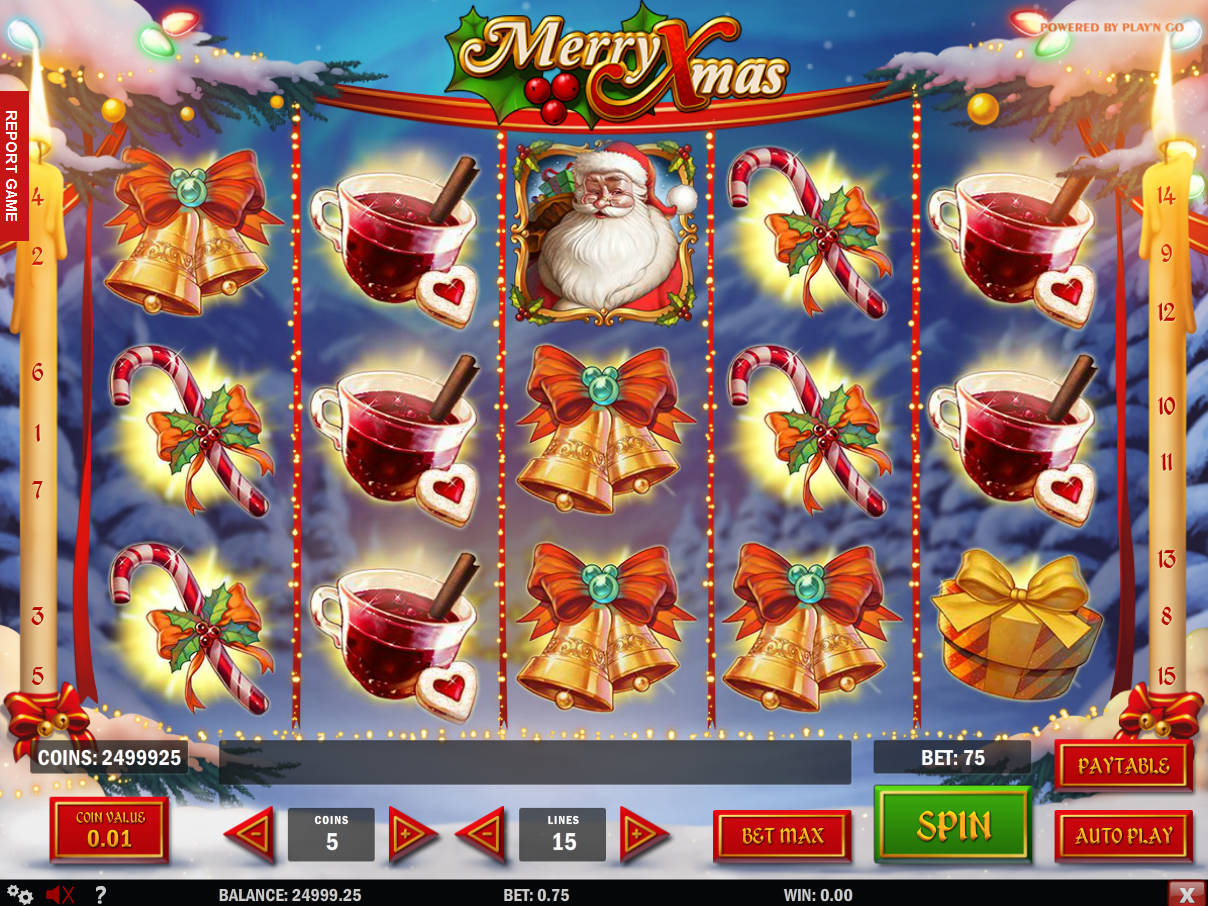 when its time for christmas you definitely become desperate for gifts with free merry xmas slot you have chances to grab a few riches playn gos game - Merry Christmas Games