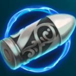Scatter symbol from slot machine Mr Green: Moonlight
