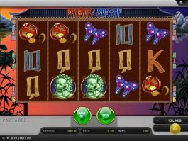 Slot machine online Phoenix and Dragon