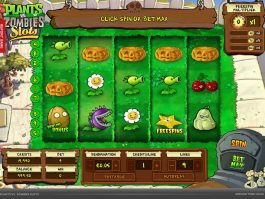 Play free online slot Plants vs. Zombies