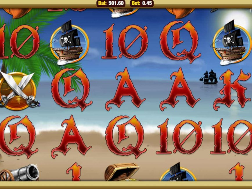 Spin free online slot Plucky Pirates