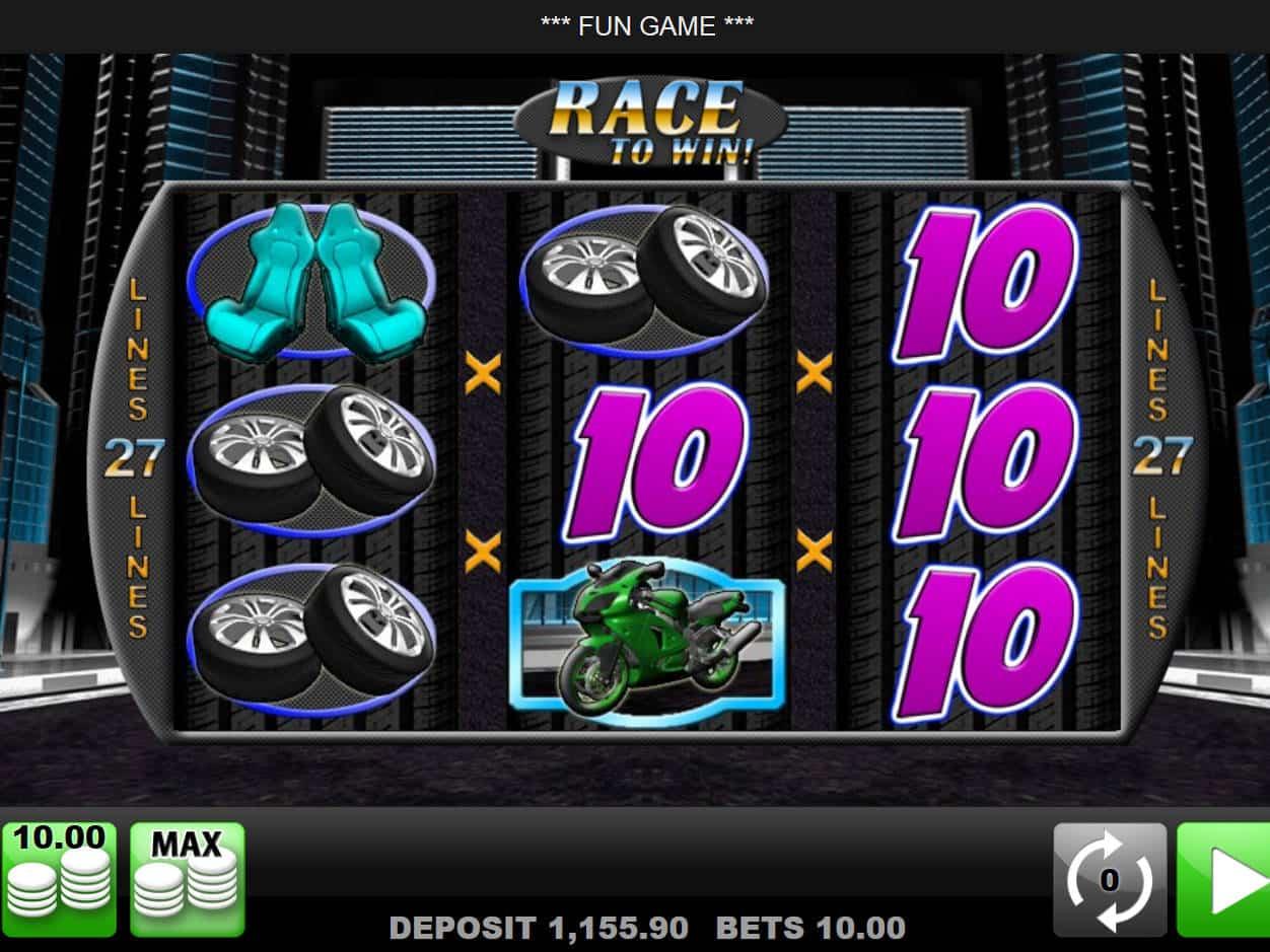 Race To Win! Slot Machine