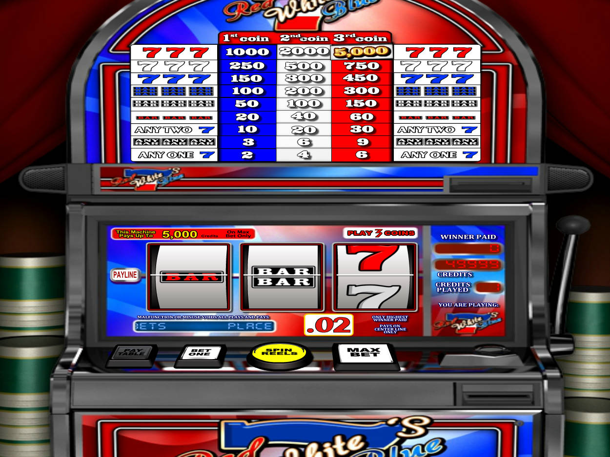 Free Slot Machine Red 7
