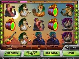 Spin casino game Safari Samba