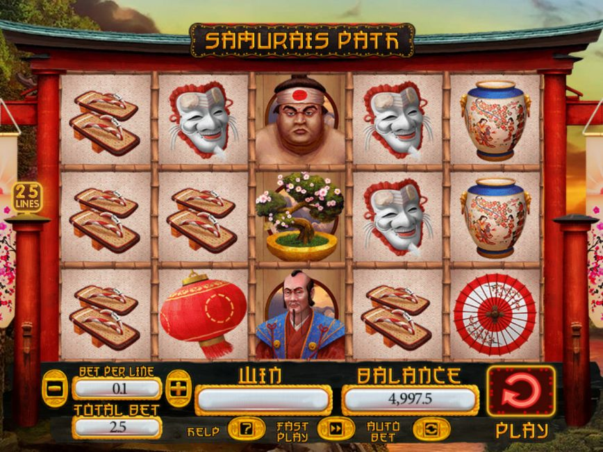 Spiele SamuraiS Path - Video Slots Online