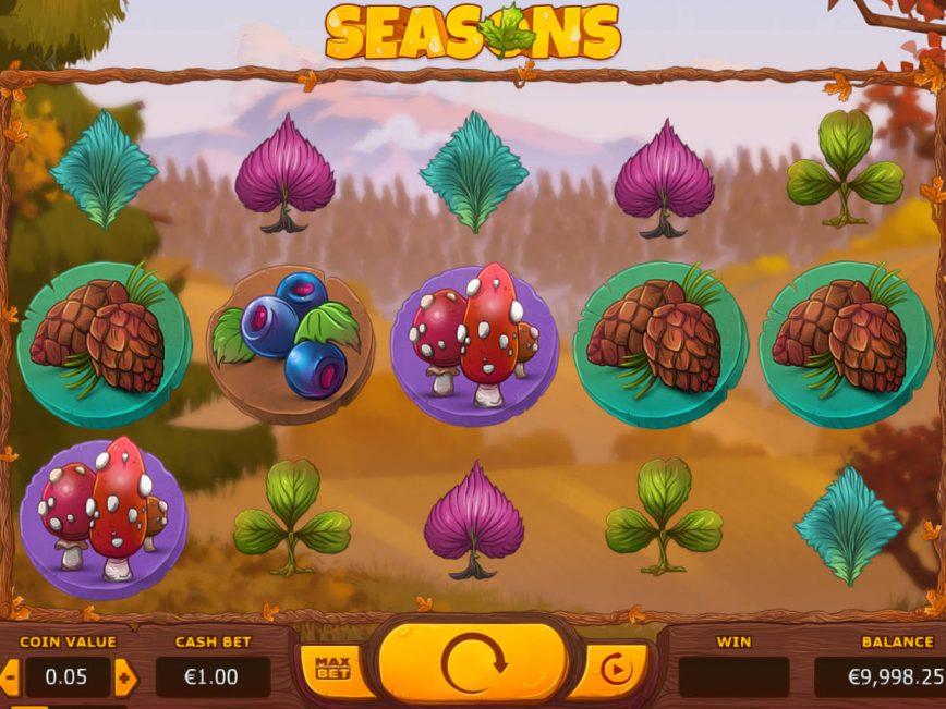 Free online slot Seasons for fun