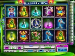 Picture from slot machine Secret Potion online