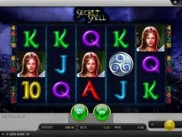 Free casino slot machine Secret Spell