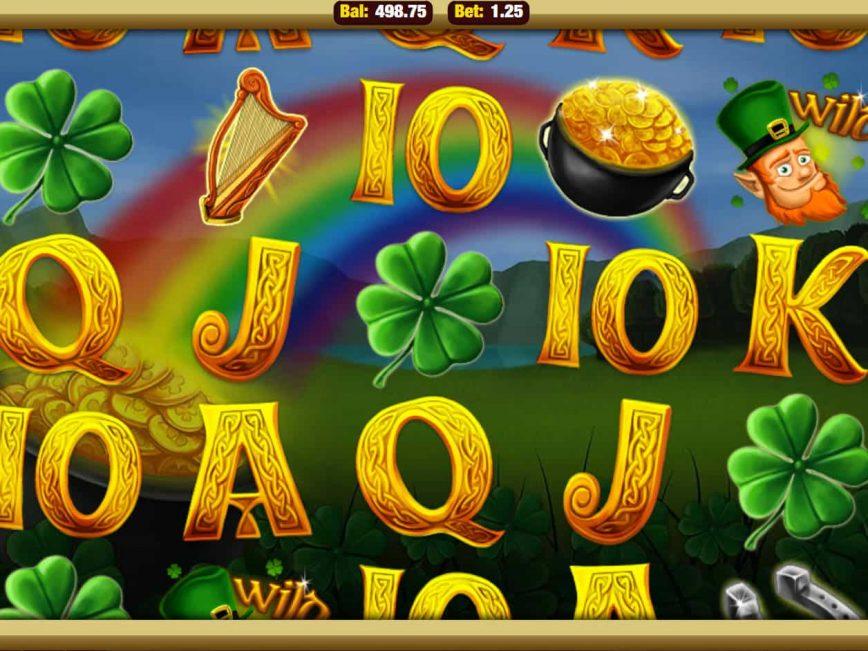Play free online slot Shamrock'n'Roll for fun