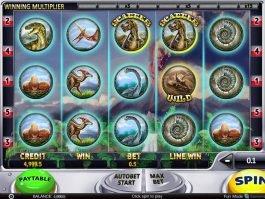 Casino slot game Slotsaurus online