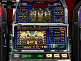 Free online slot game Super Joker