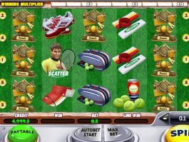 Free slot for fun Tennis Champion