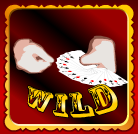 Wild symbol from online free slot game The Great Casini