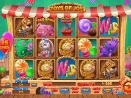 Casino online slot Toys of Joy for fun