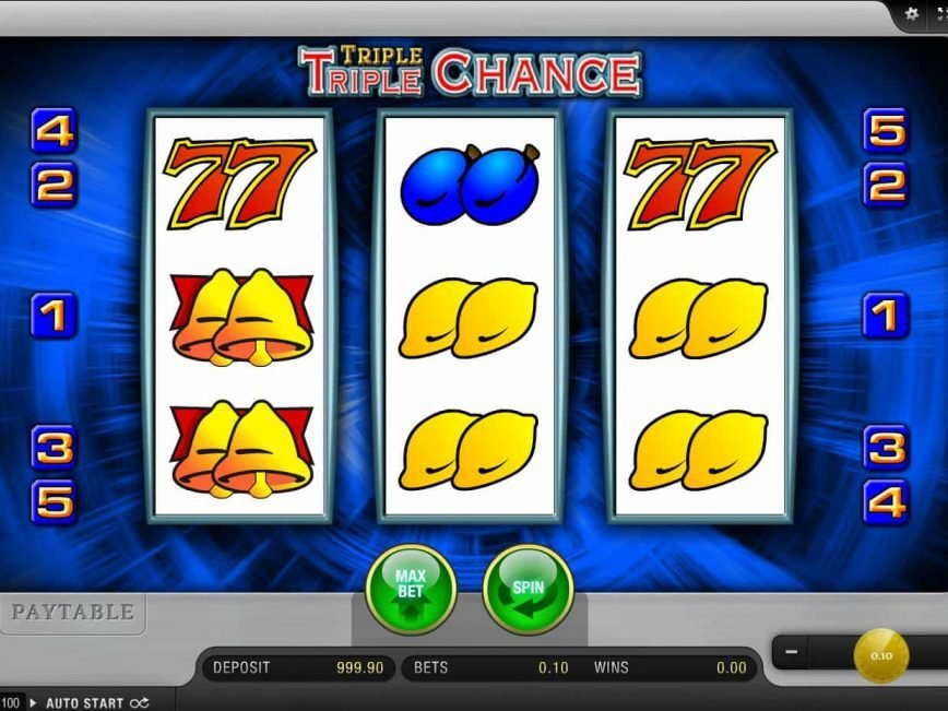 Slot machine online Triple Triple Chance