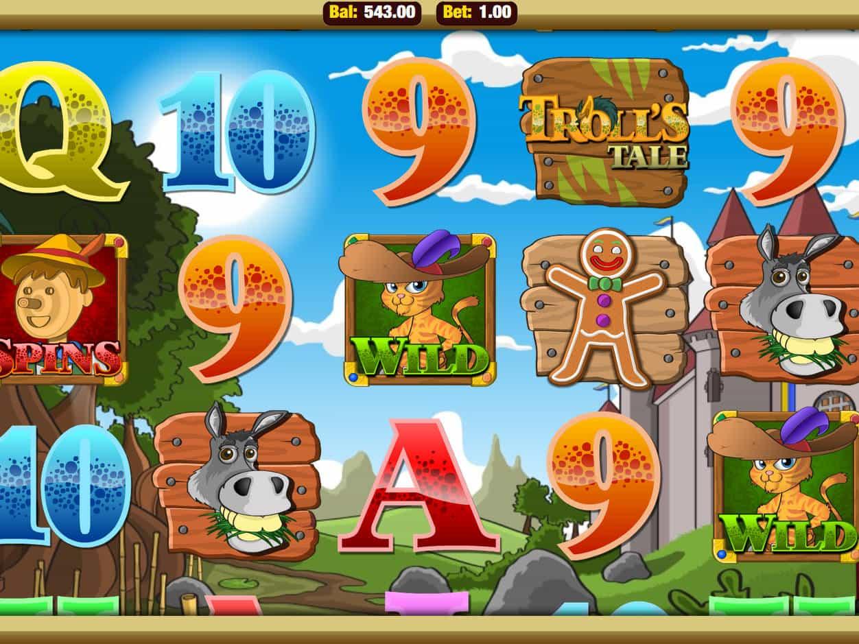 Trolls Tale Slot Machine