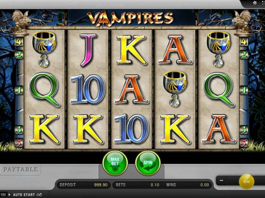 Free slot machine Vampires no deposit