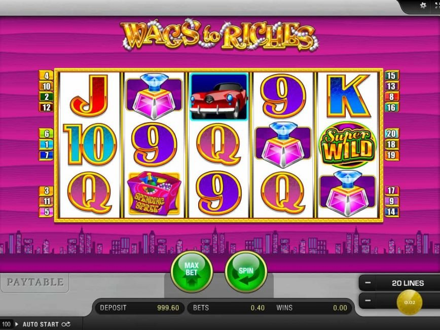 No download game Wags to Riches