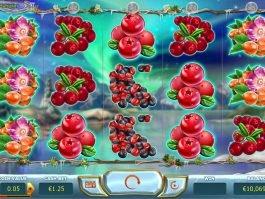 Casino slot game Winterberries online