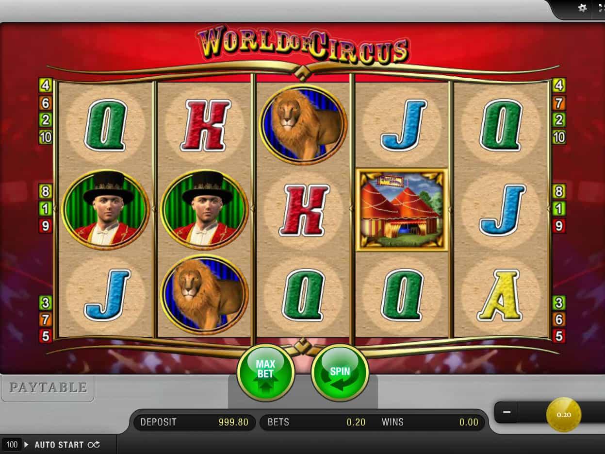 Free Circus Slot Machine Online