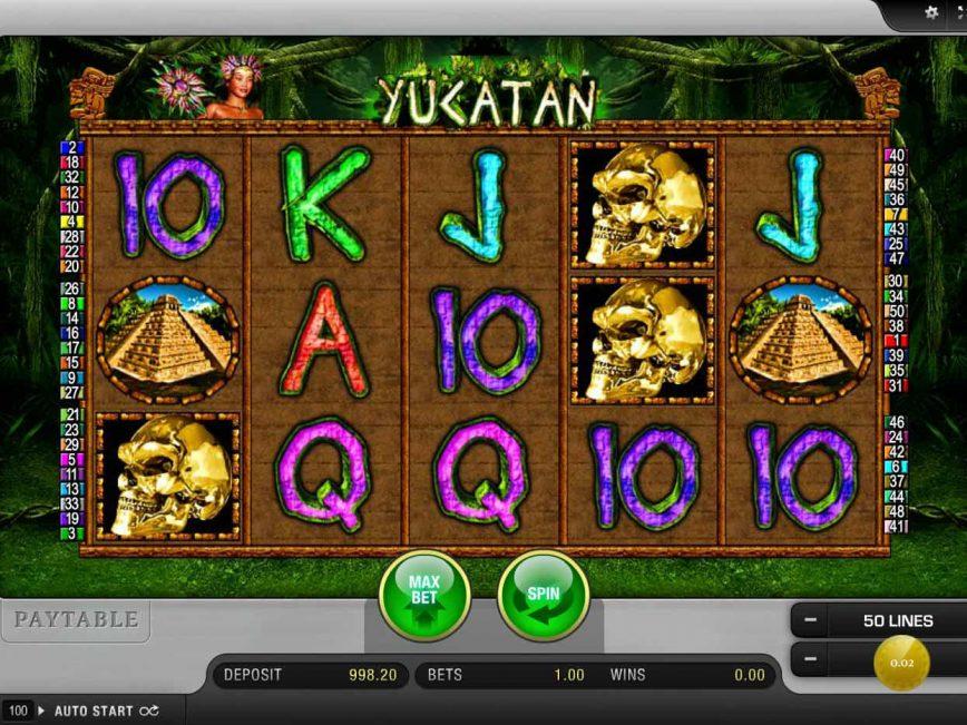Free slot machine online Yucatan